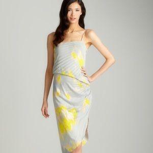 Halston Heritage Asymmetrical Dress